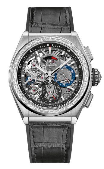 Zenith Defy El Primero 21 Chronograph Titanium & Diamonds Men's Watch