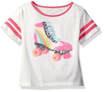 c78d1235b570 The Children s Place Big Girls  Football Graphic Tee-Shirt
