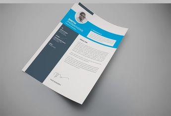 Texas Professional Resume Design Template - Graphic Templates