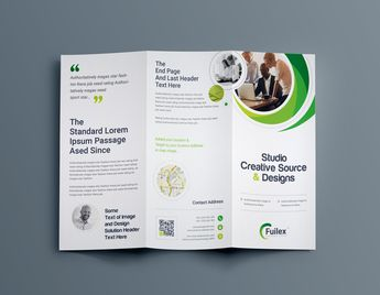 Hypnosis Professional Tri-Fold Brochure Template - Graphic Templates