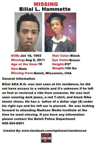 Current Missing Person flyers from Wisconsin in the 2010s To assist with Amber Alerts and missing person cases through flyer ...