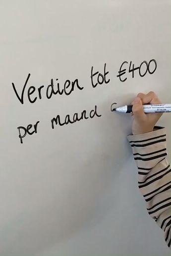 Je kunt tot €400 per maand verdienen! Meld je vandaag nog gratis aan. Vul online enquêtes. Wordt beloond!