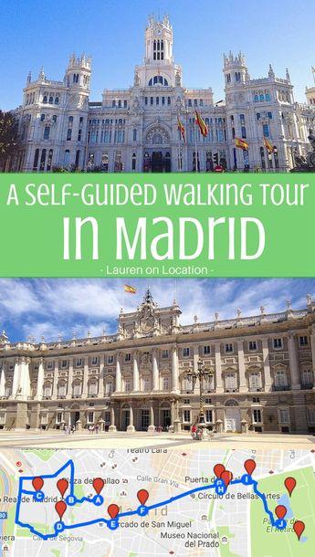 DIY Madrid Center Sights Walking Tour
