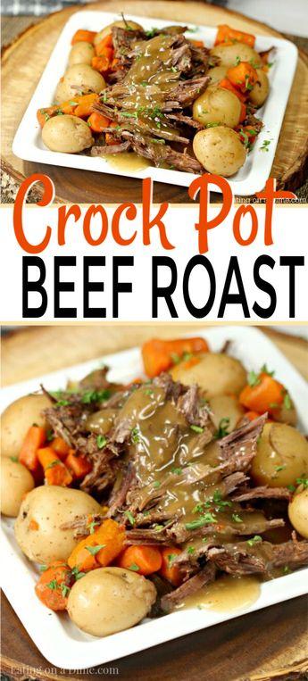 The Best Crock pot Roast