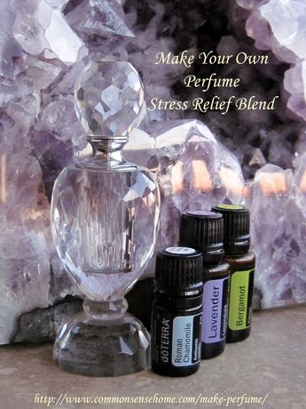 Make Your Own Perfume - Blends for Stress Relief & More