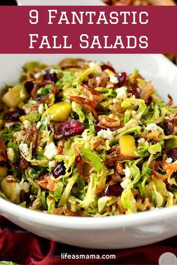 9 Fantastic Fall Salads