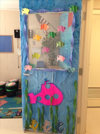 My door for my under the sea themed room! :)