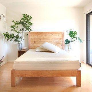 DIY Bed Frame and Wood Headboard
