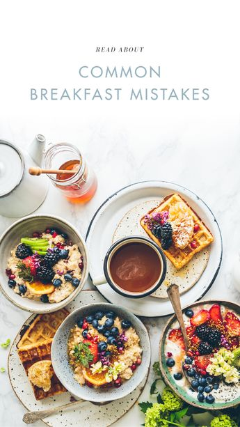 If you're no longer skipping breakfast, that's great! But you could still be making some big mistakes. Here are the most common breakfast mistakes you might be making, and what to do to fix them. Click photo to read more