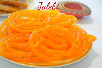 Jalebi Sweet / How to make Jalebi / Indian Jalebi Recipe   Tasty Appetite