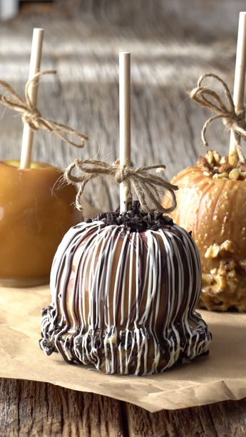 Over the Top Caramel Apples