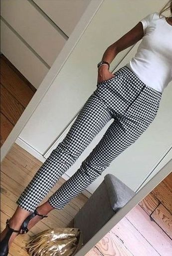 Awesome 43 Stunning High Waisted Pants For Slim Women This Fall Winter
