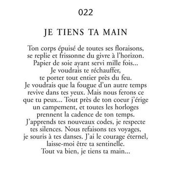 Inspirational Quote: Image: Je-tiens-ta-main