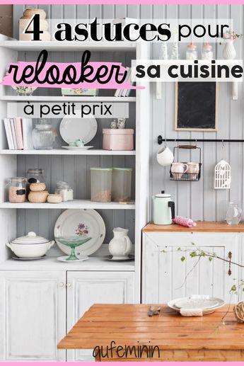Relooker sa cuisine à petit prix : toutes nos idées