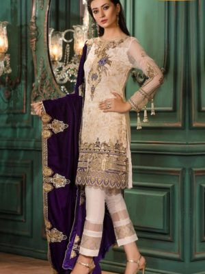 ad84646f4d ZAHRA AHMED Luxury Embroidered Latest Linen Collection Replica