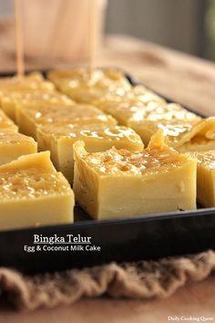 Bingka Telur - Egg and Coconut Milk Cake