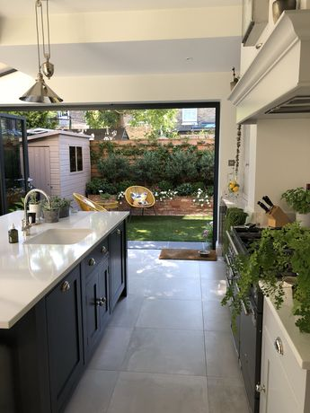 Our kitchen renovation in Richmond, Surrey. Kitchen from Handmade Kitchens of Christchurch. See our blog for the total transformation