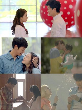 KARA's Hara takes the initiative for her kiss scene with K