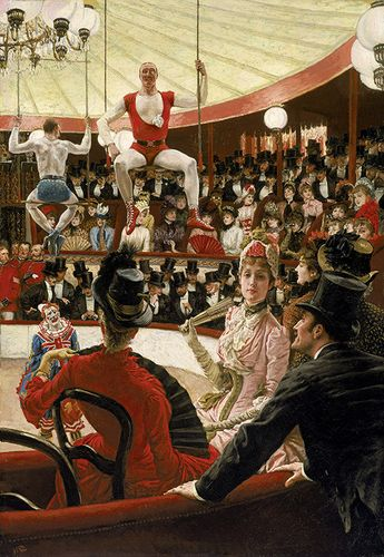 THE CIRCUS LOVER, 1885