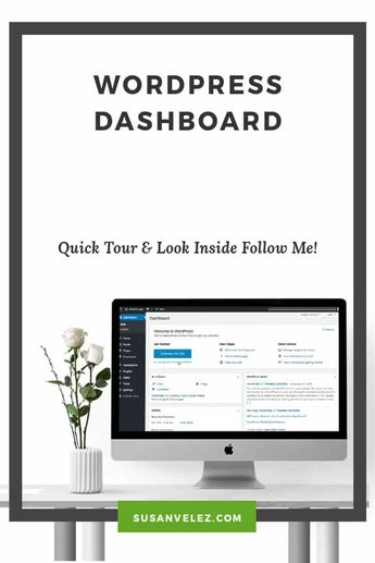 Learn to Navigate The WordPress Dashboard