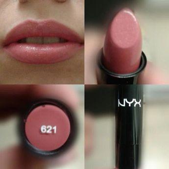 My first #nyx product #lipstick #621 #iloveit @NYX Cosmetics #makeuptips