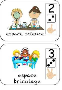 les espaces d'activités et de jeux