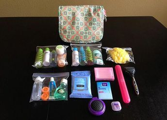 Pre-packed Toiletry Bag | Everyday Simple