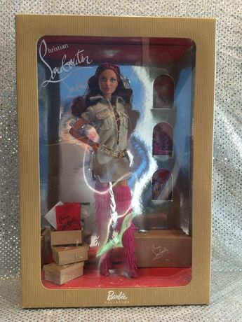 DOLLY FOREVER BARBIE BY CHRISTIAN LOUBOUTIN GOLD LABEL 2009 MODEL MUSE R4486 MIB #Dolls
