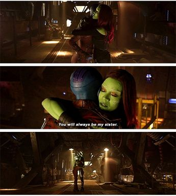 Gamora and Nebula sisters
