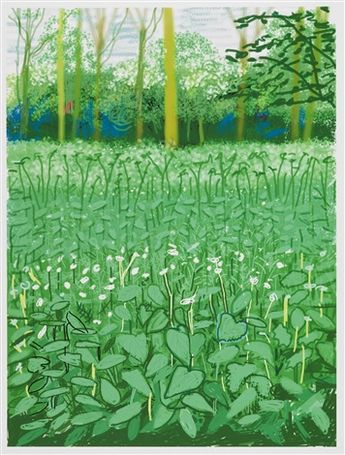 The Arrival of Spring, Hockney - 6 May 2011