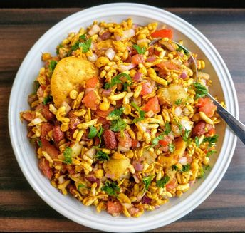 Bhel Puri Recipe | Mumbai Bhel Puri
