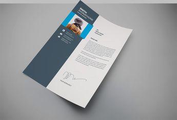 Dakota Professional Resume Design Template - Graphic Templates