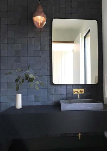 The One Trick to Faking a Bigger Bathroom
