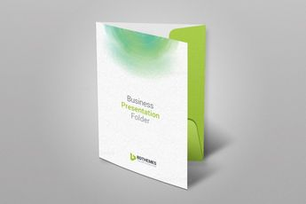 Environment Presentation Folder Template 002324 - Template Catalog
