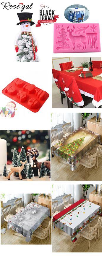 70% remise pour la décoration de cuisine #Rosegal #Noël #cuisine