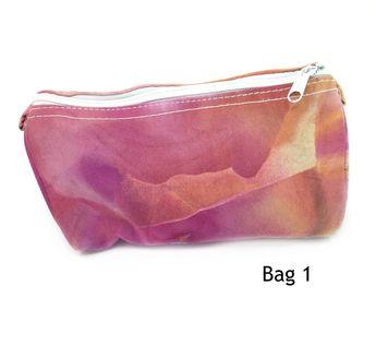 Back to School, Cosmetic Bag Canvas Makeup Bag, Zipper Pouch, Fabric Zipper Bag, Pencil Bag, Makeup Travel Bag, Makeup Bag Bridesmaid Boho