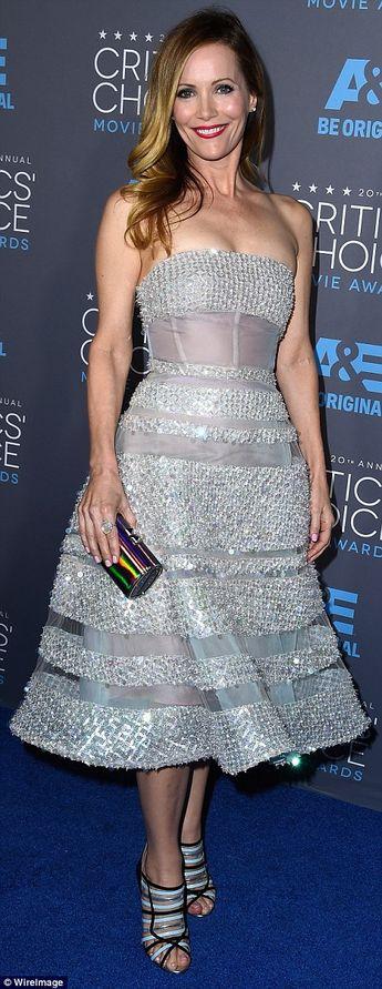 Leslie Mann at the Critics' Choice Awards
