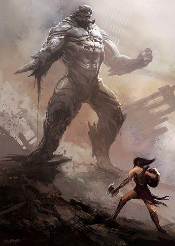 ArtStation - DOOMSDAY Conceptart for Batman vs. Superman, Jerad Marantz