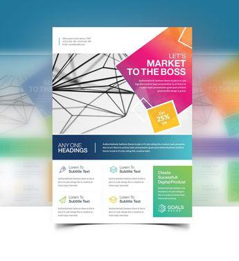 Elegant Flyer Designs - Graphic Templates