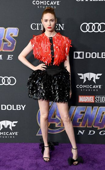 Karen Gillan from Avengers: Endgame World Premiere