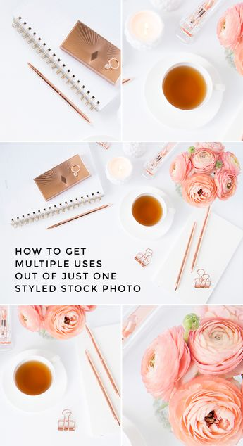 Easy Ways to Customize Stock Photos for Your Brand - Elle Drouin | wonderfelle MEDIA