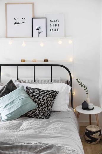Fresh Farmhouse Minimalist Bedroom