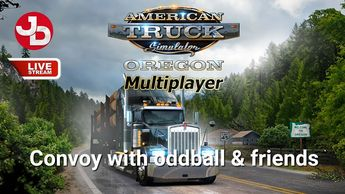 0452b3dcbef ATS MP with oddball and friends LIVE STREAM #AmericanTruckSimulator #ATS  #JimmyDali