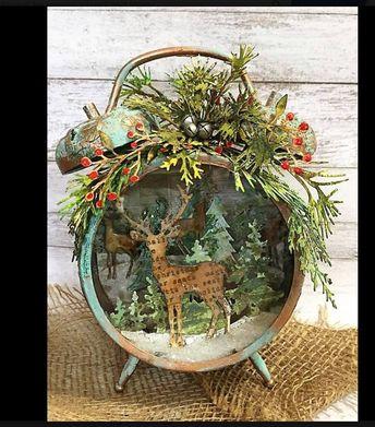 Christmas Clock Case