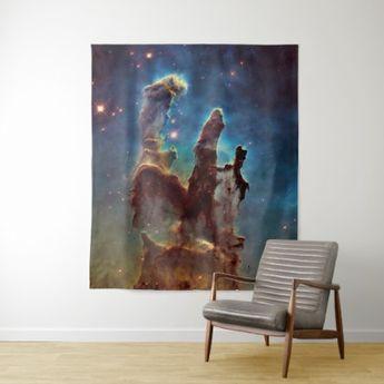 HDR Eagle Nebula Pillars of Creation Tapestry | Zazzle.com