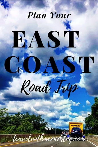 Planner for Road trip along EAST COAST (USA)