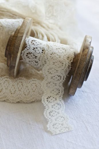 Lace is such a delicate looking thing, I would love to be able to incorporate this into my design. Lace Ribbon
