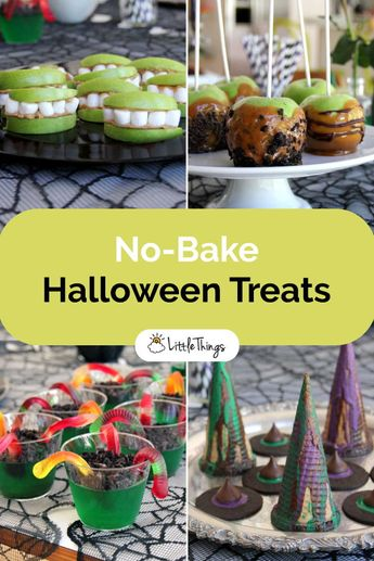 No-Bake Halloween Treats: These thoughtful no-bake dessert recipes will simply make your upcoming Halloween party fabulous, delicious, and stand out from all the rest.