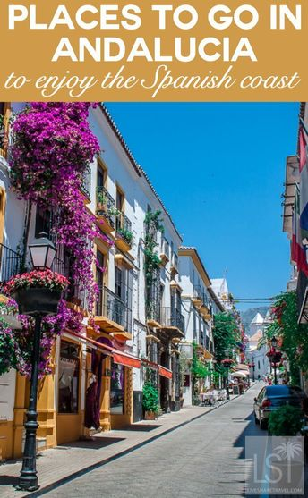 Places to go in Andalucia, Spain to enjoy the Spanish coast