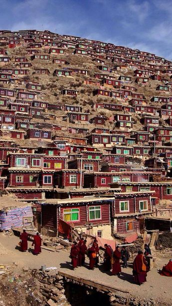 Tibet is located in the highest region of the world, which is why it is often referred to as the 'Roof of the World'.  #Tibet